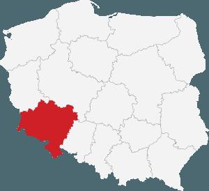 Mapa przedstawicieli handlowych