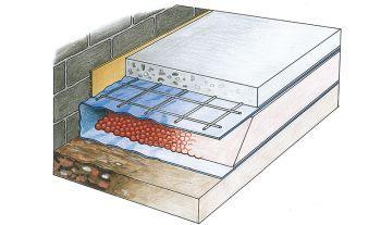 poziomowanie podłóg przy pomocy suchej podsypki