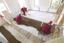 Położenie podłogi na podłożu z keramzytu Liapor