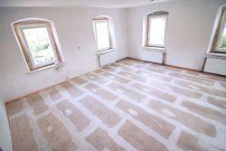 Wykończona sucha podłoga